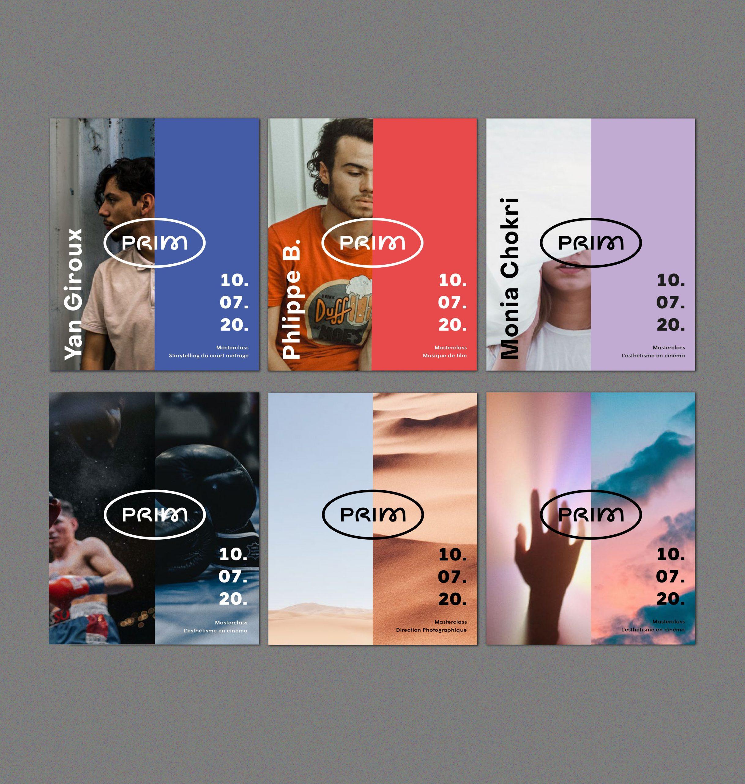 Application possible de l'identité visuelle