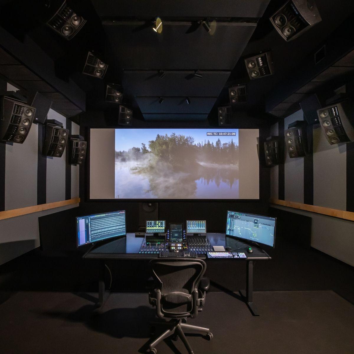 Mixage Cinéma - © Éric Carrière