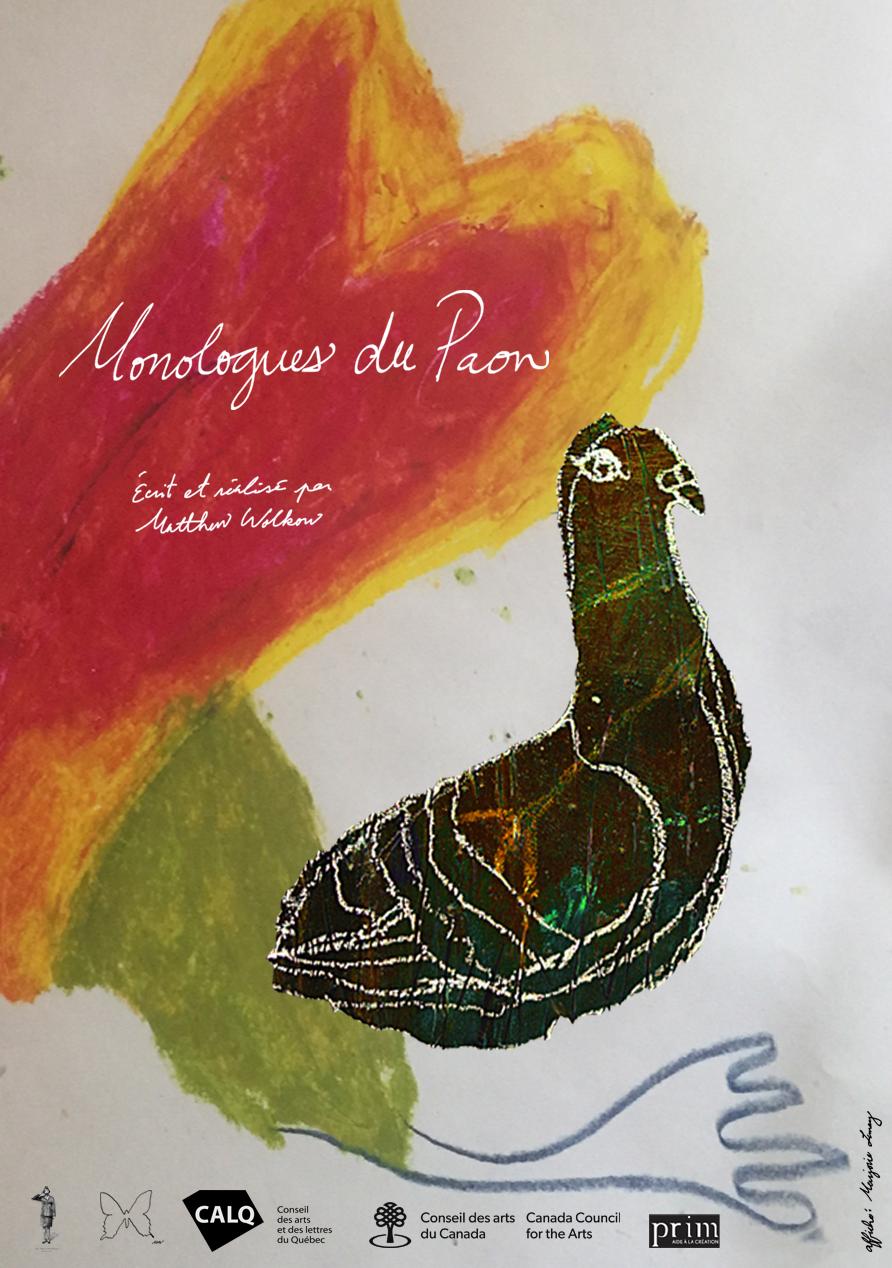 Monologue du paon - Matthew Wolkow