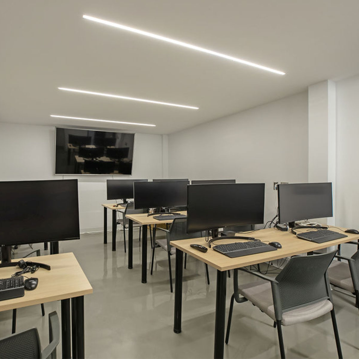 Training room and collaborative spaces